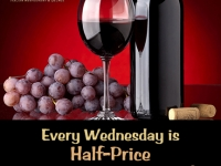 Wednesday 1/2 Price Wine