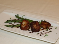 Pan Seared Scallops